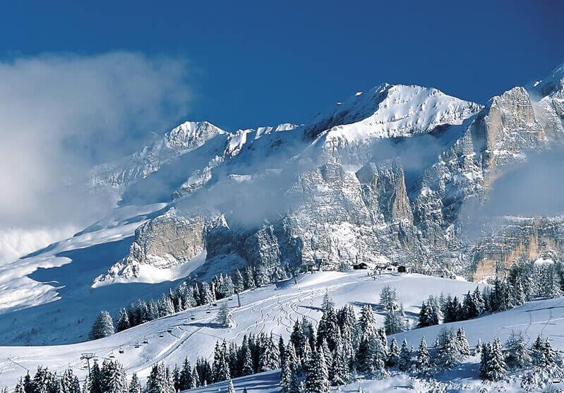 Зимние горы в Крыму